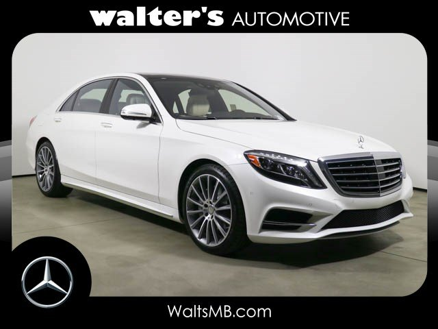 New 2016 mercedes benz s class s550 sedan in riverside for Walters mercedes benz riverside